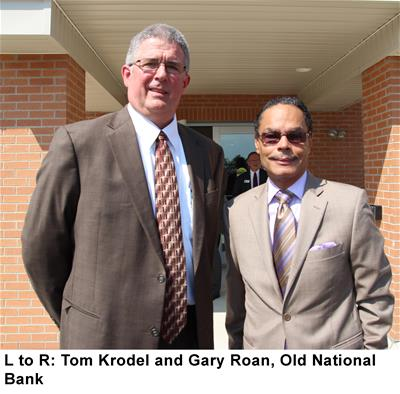 Tom Krodel and Gary Roan of Old National Bank
