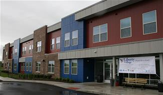 Liberty Village is a new housing option in Terre Haute, IN,  for veterans with mental health issues.